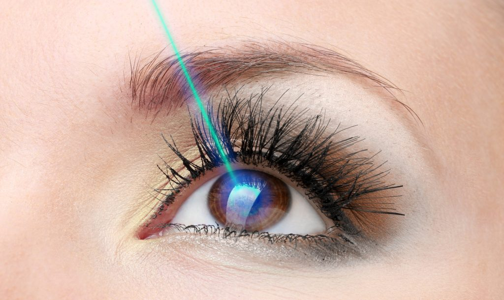 Laser refractive surgery scaled